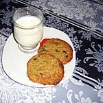 recette cookies à la banane et au chocolat de Martha STEWART