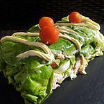 recette Terrine de salade aux crudités