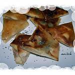 recette samossas chèvre-menthe