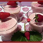 recette Mousse de fraise au fromage blanc