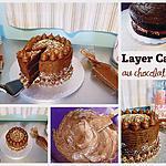recette Layer Cake au chocolat noir