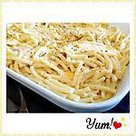 recette Macaronis gratinés au reblochon