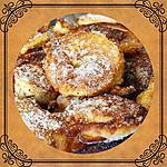 recette Beignets aux pommes et bananes aromatisés au rhum