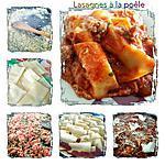 recette Lasagnes à la poêle