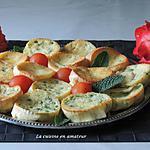 recette Minis clafoutis au jambon et petits pois