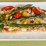recette Pizza thon et asperges