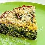 recette Clafoutis de sardines aux épinards