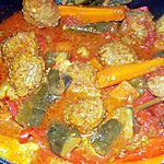 recette Tajine aux boulettes
