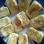 recette Flans de pommes de terre au parmigiano reggiano