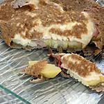 "recette Galette bretonne ""mozzarella et jambon cru"""