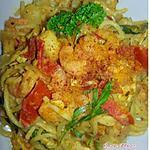 recette Spaghetti Terre-Mer au Curry