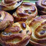 recette pains aux raisins aux thermomix