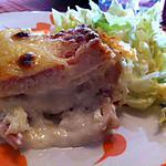 recette Croc cake aux fromages