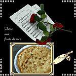 recette *tarte aux fruits de mer*