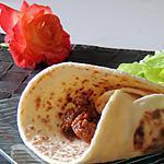 recette Fajitas à la bolognaise