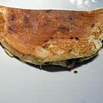 recette Omelette pepperoni/chèvre (compatible dukan)