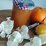 recette Confiture d'orange- citron au vin