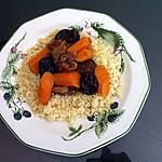 recette Tajine de boeuf aux carottes et fruits secs