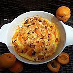recette Clafoutis aux abricots et amandes(cuit au micro-ondes)