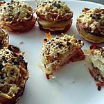 recette Mille feuilles croustillant pomme de terre bacon