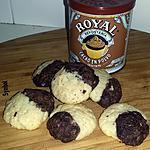 recette Cookies marbrés