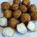 recette Boulette poulet œuf de caille