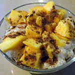recette Riz au lait de coco et à la mangue