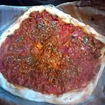 recette pizza a la viande  '' etli pide turc ''