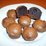 recette Bouchons au chocolat (avec un reste de ganache)