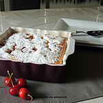 recette Gâteau mousse aux cerises