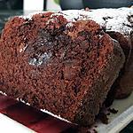 recette Cake moelleux au chocolat et noisettes entières fourré au Nutella chaud
