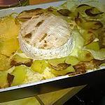 recette Gratin de pommes de terres au camembert