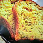 recette Cake à la courgette et à la mimolette