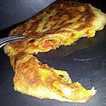 recette Msemens (crêpes feuilletés marocaine)farcis