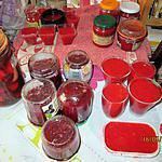 recette confitures,  curd,   coulis,     sirop de fraises