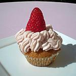 recette Cupcake a la fraise