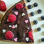 recette Gâteau à la framboise de Mamie