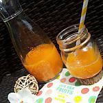recette Nectar d'abricots vanillé fait maison