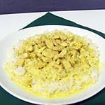 recette Emincé de volaille sauce curry