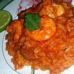 recette Jambalaya aux crevettes et poulet