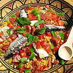 recette Taboulé epicée au sardines et chorizo