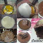 recette Gâteau au yaourt et chocolat.
