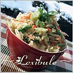 recette Salade de chou crémeuse
