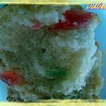 recette Muffins au lait de coco et fruits confits