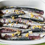 recette Sardines citron anis