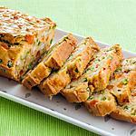 recette Cake aux langoustines et aux petits légumes
