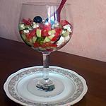 recette SALADE de LÉGUMES et FROMAGE de FETA . SIMPLE & RAPIDE
