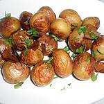 recette POMMES DE TERRE GRENAILLE ROTIES AU LAURIER