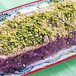 recette Fondant à la rhubarbe, pistaches et yaourts