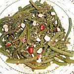 recette SALADE DE HARICOTS VERTS VINAIGRETTE AU CURRY